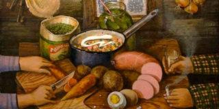 Салат «Зимний»… на свой вкус…