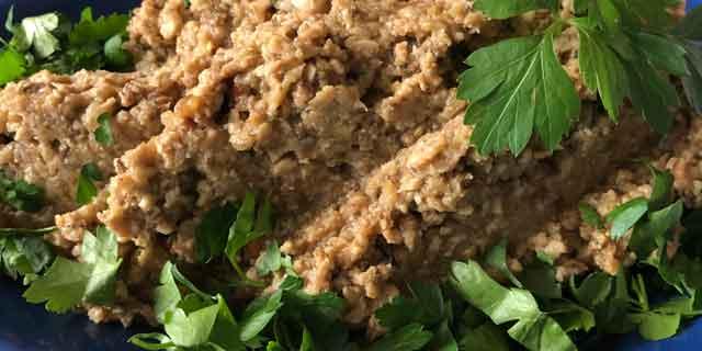 Баклажаны со вкусом печени (еврейская кухня)